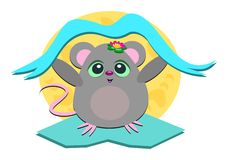 Mouse Banner Stock Image