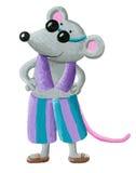 Mouse on the beach Stock Photos