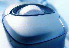 Mouse blu fotografie stock libere da diritti