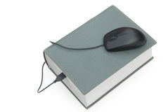 Mouse and book Stock Photography