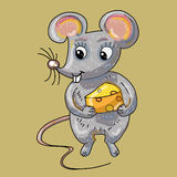 Mouse cartoon Royalty Free Stock Photography