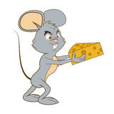 Mouse cartoon icon Royalty Free Stock Images