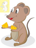 Mouse Cheese Stock Photos
