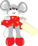 A mouse is children toy Royalty Free Stock Photos