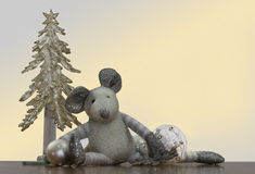 Mouse-christmas Royalty Free Stock Image