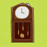 Mouse on Clock with Empty Face Stock Images