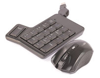 Mouse and computer keyboard Royalty Free Stock Photography