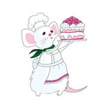 The mouse -confectioner Royalty Free Stock Images