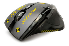 Mouse crash test Royalty Free Stock Image