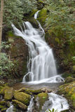 Mouse Creek Falls in Smoky Mountain National Park Royalty Free Stock Photo