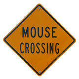 Mouse Crossing Royalty Free Stock Photo