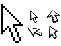 Mouse cursors Royalty Free Stock Photos