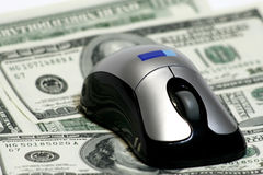 Mouse dei contanti Fotografia Stock Libera da Diritti