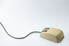 Mouse del calcolatore di vecchio stile Fotografia Stock