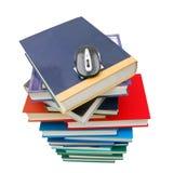 Mouse del calcolatore e del libro Fotografie Stock Libere da Diritti