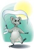 Mouse del nuovo anno Fotografia Stock Libera da Diritti