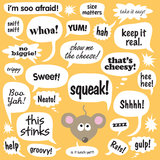 Mouse di conversazione Fotografia Stock Libera da Diritti