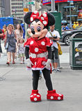Mouse di Minnie in NY. Fotografia Stock
