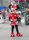 Mouse di Minnie in NY. Fotografia Stock