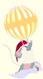 Mouse di natale Immagine Stock