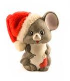 Mouse di natale Fotografia Stock