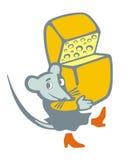 Mouse divertente Immagini Stock