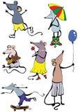 Mouse divertente Immagini Stock Libere da Diritti