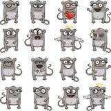 Mouse divertenti (1) Fotografia Stock Libera da Diritti