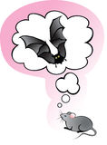 Mouse dreams Royalty Free Stock Images