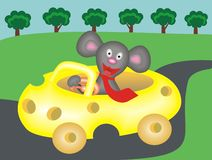Mouse driver2 Stock Photos