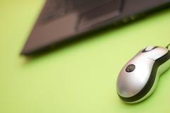 Mouse e calcolatore Immagini Stock Libere da Diritti