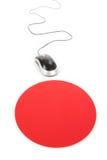 Mouse e rilievo del calcolatore Fotografie Stock Libere da Diritti
