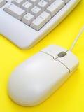 Mouse e tastiera del calcolatore immagini stock libere da diritti