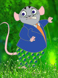 mouse at forest Stock Images