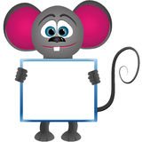 Mouse with frame Stock Photo