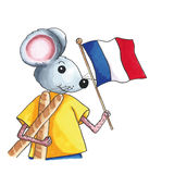 Mouse - France Royalty Free Stock Images