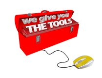 Mouse we give the tools isolated 3d Stock Photo
