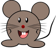 Mouse, Grey, Little, Animal, Cute Stock Photography