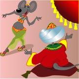 Mouse harem Stock Photo