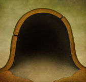 Mouse   hole background Royalty Free Stock Photo