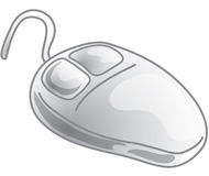 Mouse Icon Royalty Free Stock Photo
