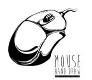 Mouse icon design vector illustration eps10 graphic Royalty Free Stock Photography