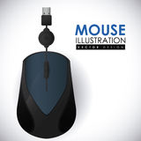 Mouse icon design vector illustration eps10 graphic Royalty Free Stock Photos