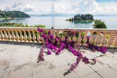 Mouse island on clouds, Corfu Stock Images