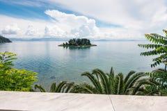 Mouse island, Corfu Stock Photos