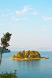 Mouse Island, near Corfu Stock Photo