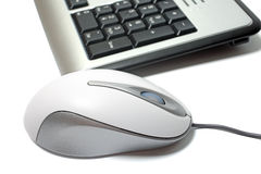Mouse and keyboard. Royalty Free Stock Photos