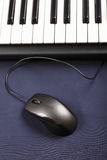 Mouse and keyboard Royalty Free Stock Photo