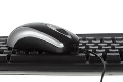 Mouse and keyboard Stock Photography