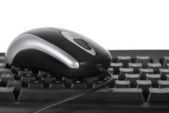 Mouse and keyboard royalty free stock photos